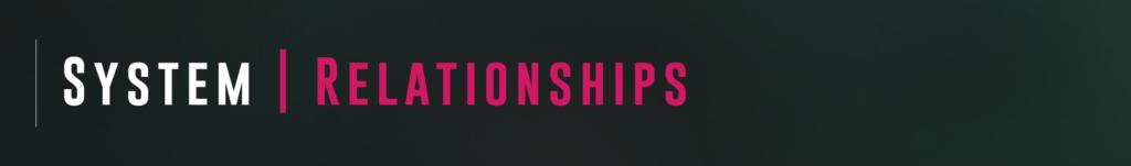 VisAI System - Relationships